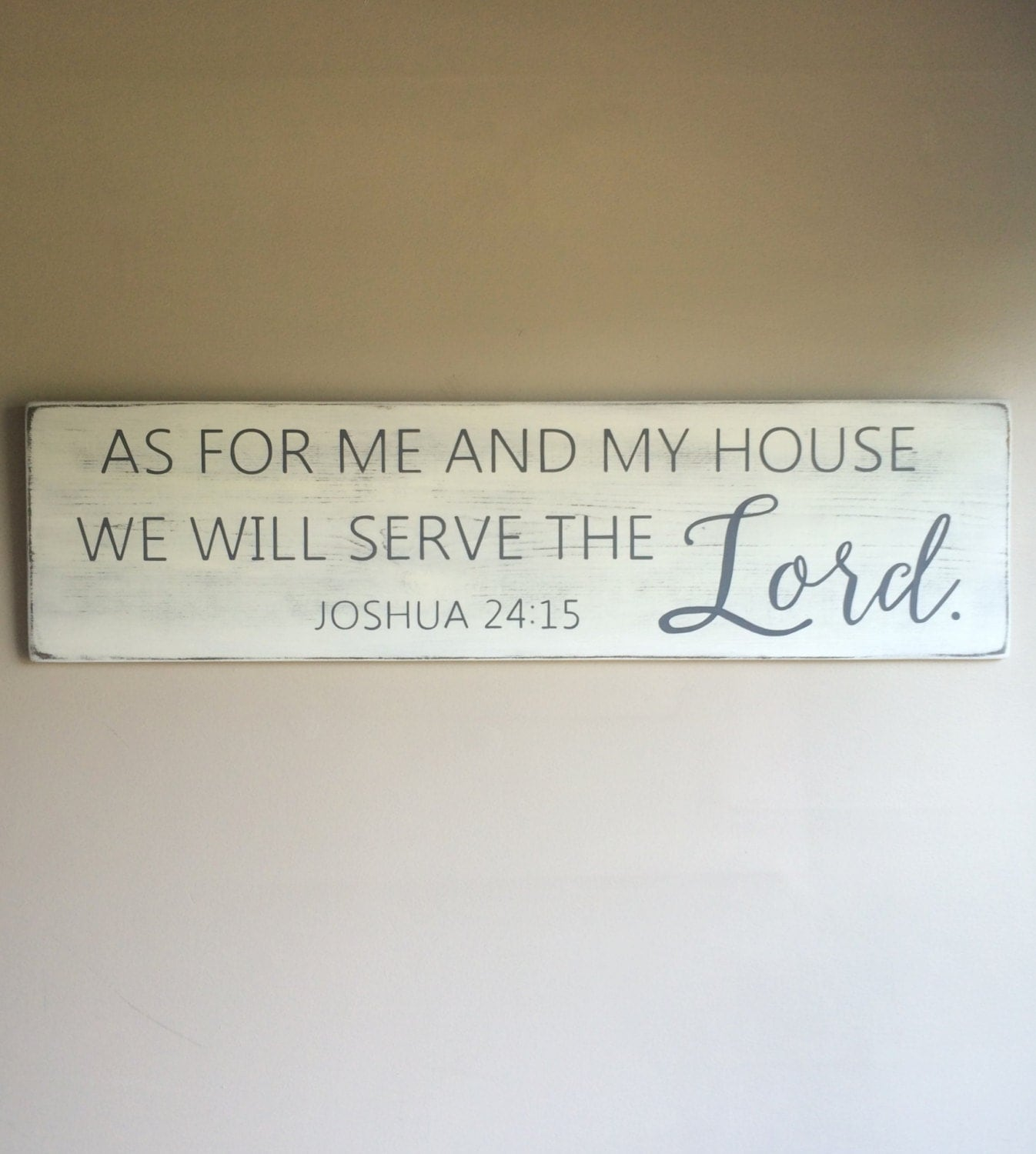as for me and my house sign joshua 24 scripture wall