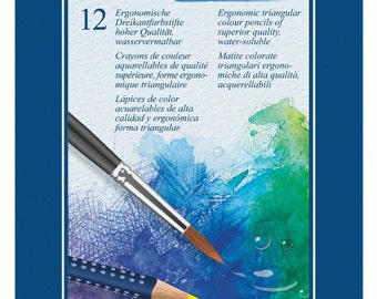 Faber-Castell watercolor 12