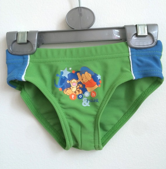 Items similar to Baby Boy Swim Pants with Winnie The Pooh