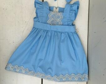 The Ella Dress - Blue