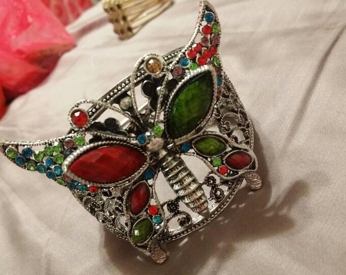 Bangle Bracelet - Butterfly