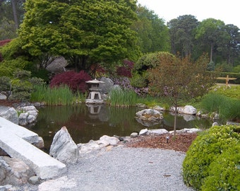 Japanese Garden Stone Bridge zen garden bridge | etsy