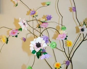DIY - 30 Paper Flower Templates - Lovely