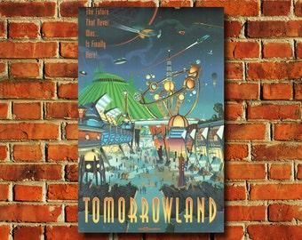 Walt Disney World Tomorrowland Poster - #0593