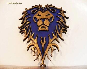 World of Warcraft Alliance shield cosplay prop