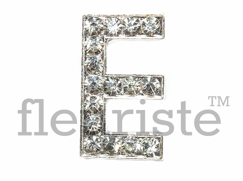 Letter e rhinestone bulk metal rhinestone rhinestone for Bulk letters