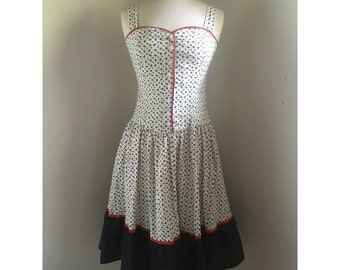 1960s Dress // Vintage Krist Gudnason Dress // Prairie Dress