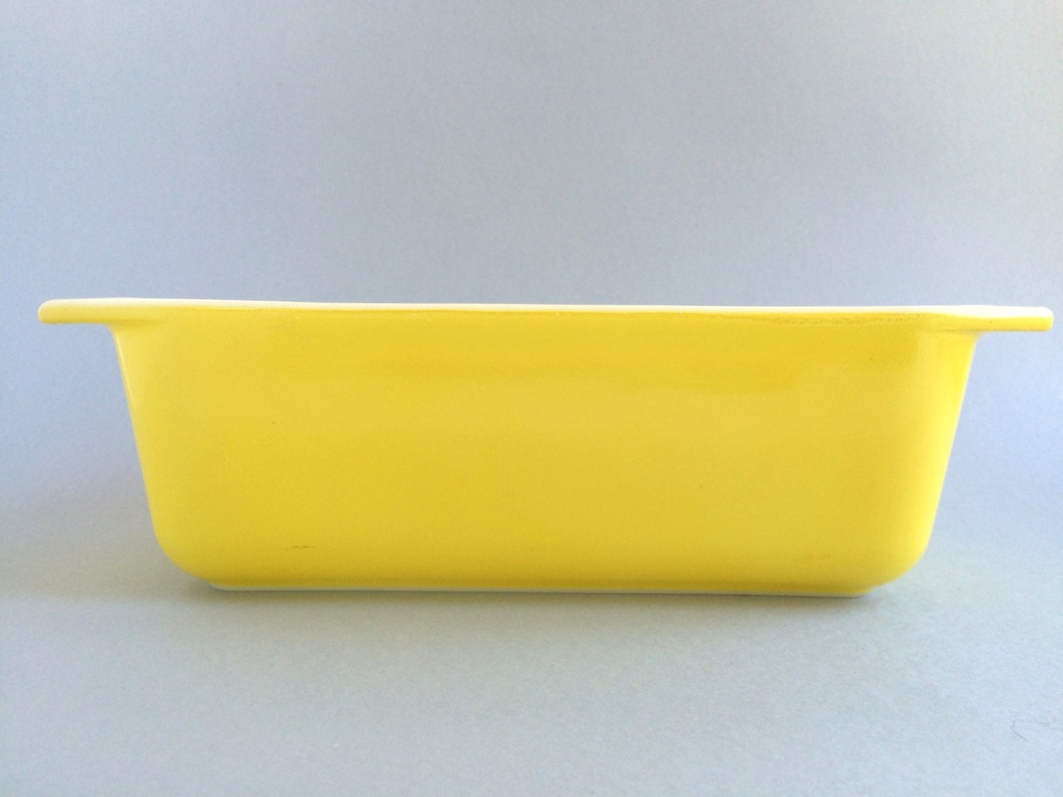Retro Kitchen Canisters Yellow Pyrex Loaf Pan Vintage Pyrex Pyrex 913 Bright