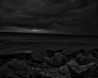 Waves drifting away
