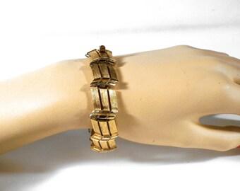 Vintage Crown Trifari Bracelet U3292 designer signed
