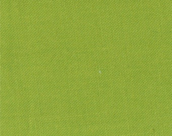 "Bella Solids Pesto Green for Moda Fabrics #9900233 100% Cotton 44""-45"" Wide"