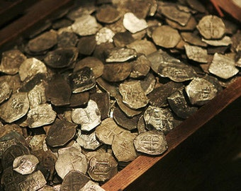 Pirates Treasure, Dead Sea Salt, Bath Salts, 22 oz.