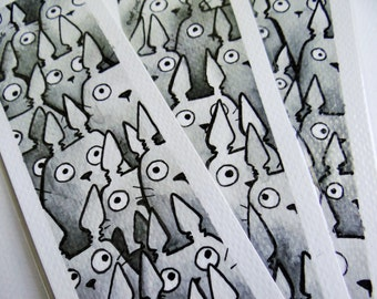 Totoro bookmark [ORIGINAL ART]