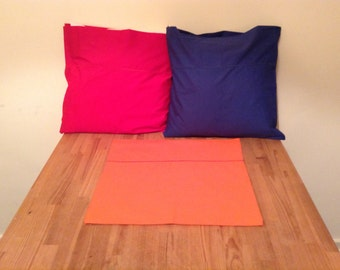 Set of 3 cushion covers