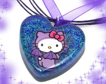 Batty Hello Kitty Resin Charm