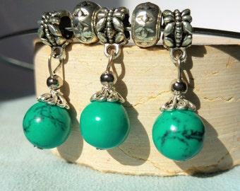 Turquoise necklace, ethnic
