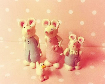 Mouse Family, Mice, miniature mice,