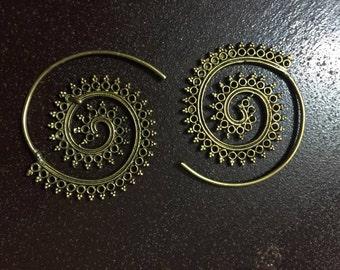 Earrings Spiral