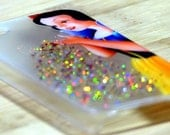 Snow White Disney iPhone Case - 4 4s 5 5s 5c 6 6s 6 + Plus - Glitter - Clear - Protective - Gift - Present - Phone - Valentines Day
