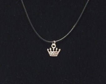 Crown Cord Necklace