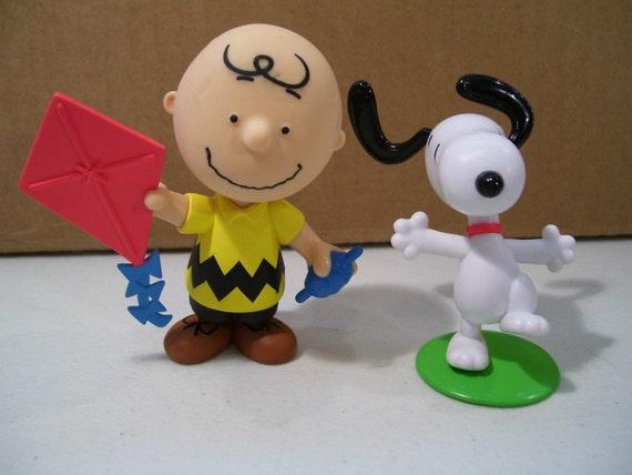 charlie brown wedding cake topper brown and snoopy cake toppers birthday figure figurine 12505