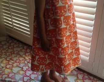 Handmade dress girl's sundress