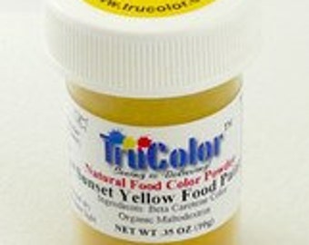 Tru Color Sunset Yellow Airbrush and Food Paint 5 gram