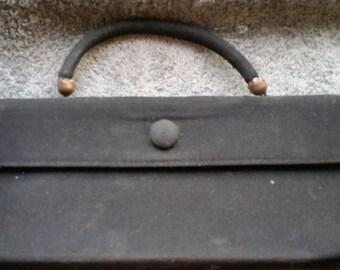 Black Vintage Classic Clutch Purse