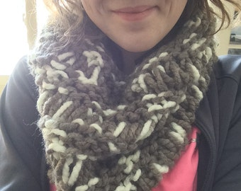 Knit Spaced Cowl