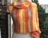 Versatile soft warm scarf /  Veelzijdige zachte warme sjaal