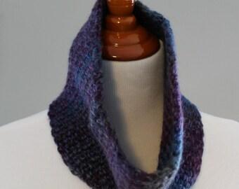 Crochet Cowl, Wool Blend Cowl, Neck warmer, Winter Cowl