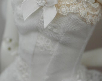 Tsukifly MNF/Unoa white Ballerina dress set