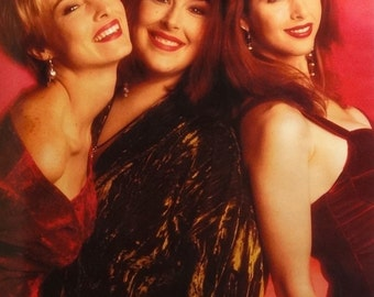Wilson Phillips 23x35 Carnie Wendy Chynna Music Poster 1990 Hold On