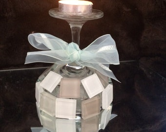 Tiled Candle Holder