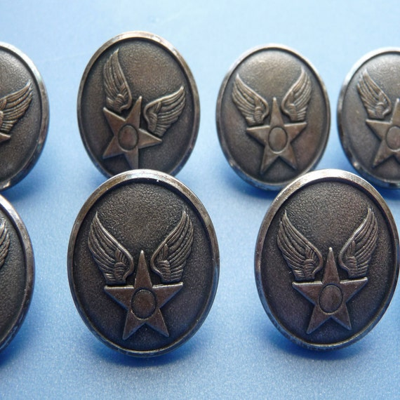Vintage Military Button 108