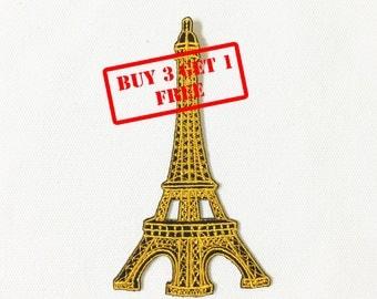 Eiffel Iron on Patch
