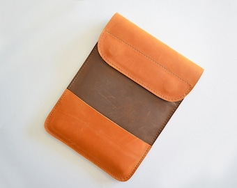 Leather iPad case, leather case, iPad cover, iPad mini case, leather clutch purse, tablet case, leather iPad sleeve, iPad case leather