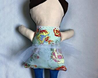 Customizable Handmade Cloth Dolls - Eloise