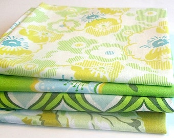 Fat Quarter Bundle-Nicey Jane Green # 1 by Heather Bailey