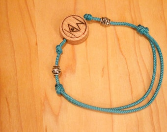 the vermonter knock on wood bracelet