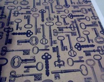 Key Tile Coaster Set of 4