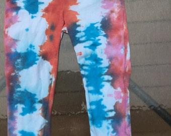 Tie Dye Yoga Pants Capris Size large
