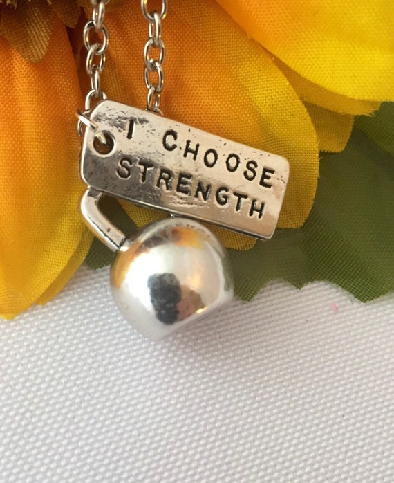 Crossfit Jewelry Necklace, Bodybuilding Jewelry, Fitness Gifts, Workout Jewelry, Weightlifting Charm, Dumbbell Kettlebell Charm, Sports Gift