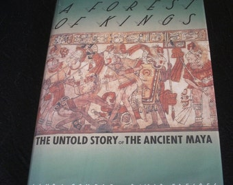 Ancient Maya, Ancient History of Mexico, A Forest of Kings, 1st Ed Mexican Myths