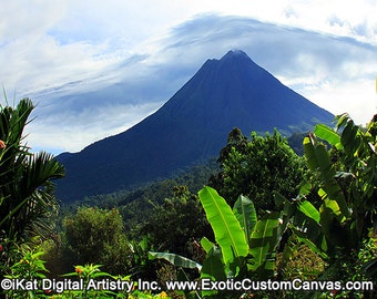 Arenal Volcano Canvas Wall Art FREE SHIPPING!