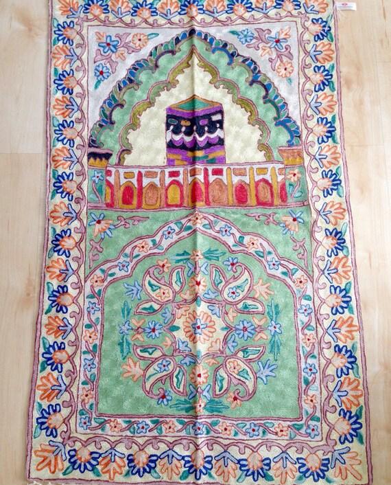 Muslim Prayer Rug Handmade Prayer Mats From Kashmir Using