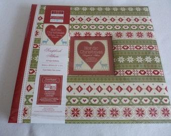Scrapbook. Nordic Christmas. 12x12. New