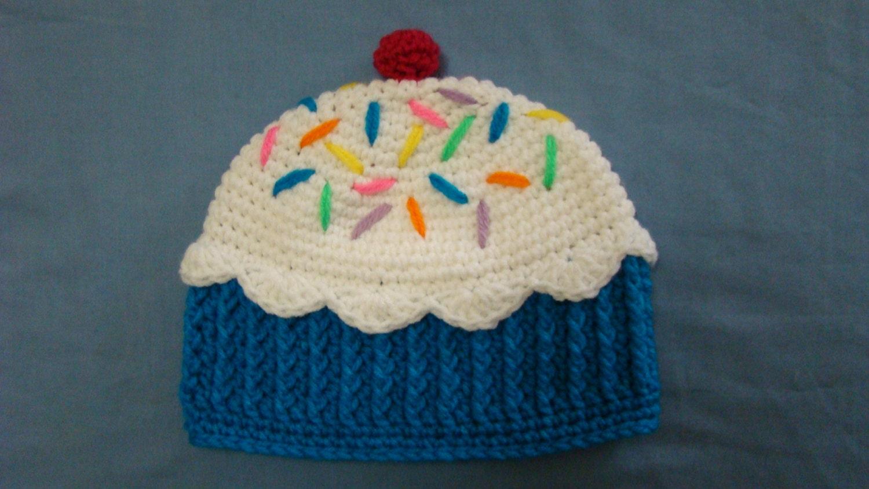9d6890ed051 Blue Cupcake Hat