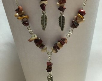Southwestern Necklace and Earring Set