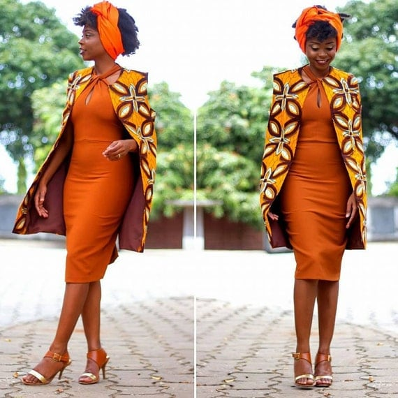 African Cape Jacket